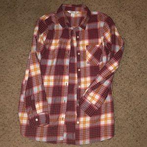 Tunic Length Flannel